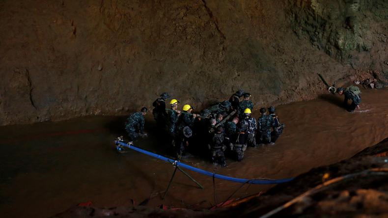 Thailand: In Höhle vermisste Jugendfußballer lebend gefunden