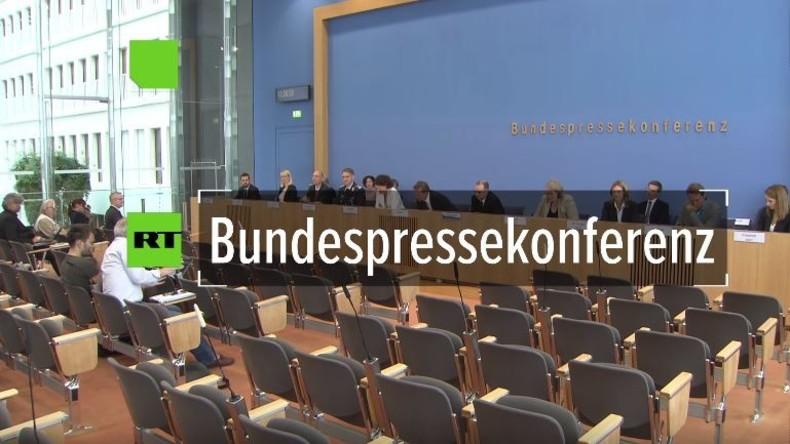 Bundespressekonferenz: US-Atomwaffen in Deutschland und die Arroganz der Regierungssprecher