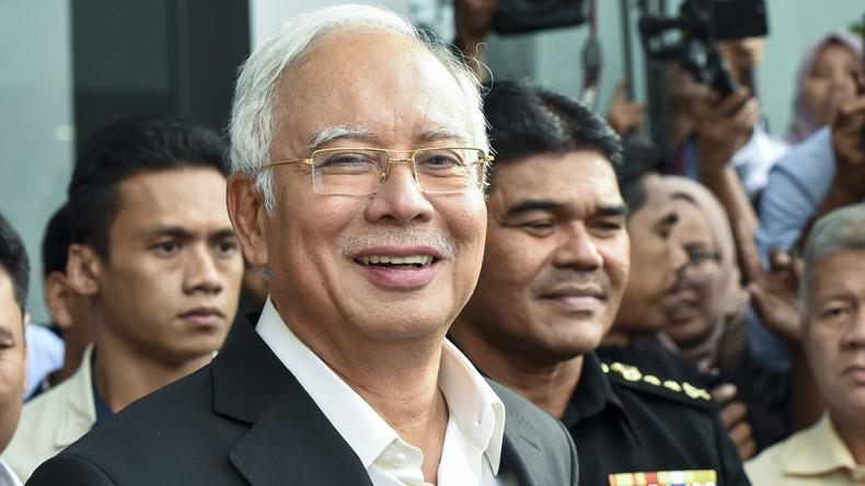 Malaysias Ex-Regierungschef festgenommen