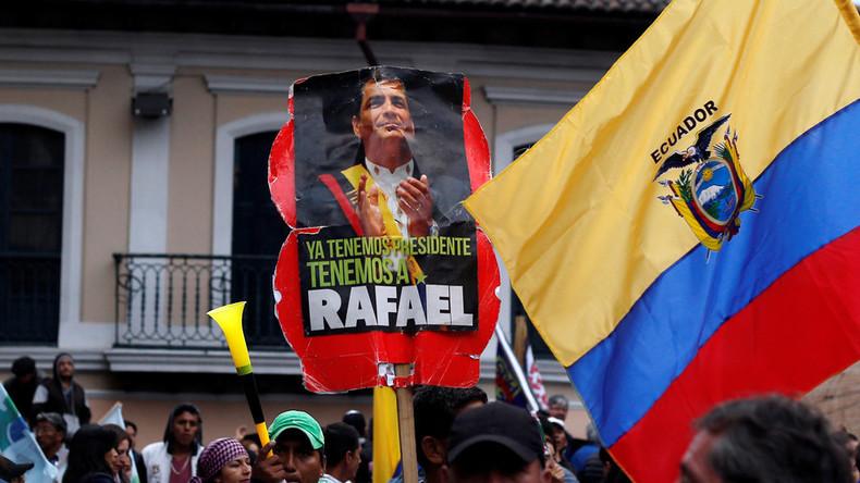 Haftbefehl gegen Ecuadors Ex-Präsident Rafael Correa erlassen