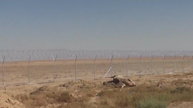 Schutzvorkehrung gegen IS-Kämpfer: Irak baut Grenzzaun zu Syrien