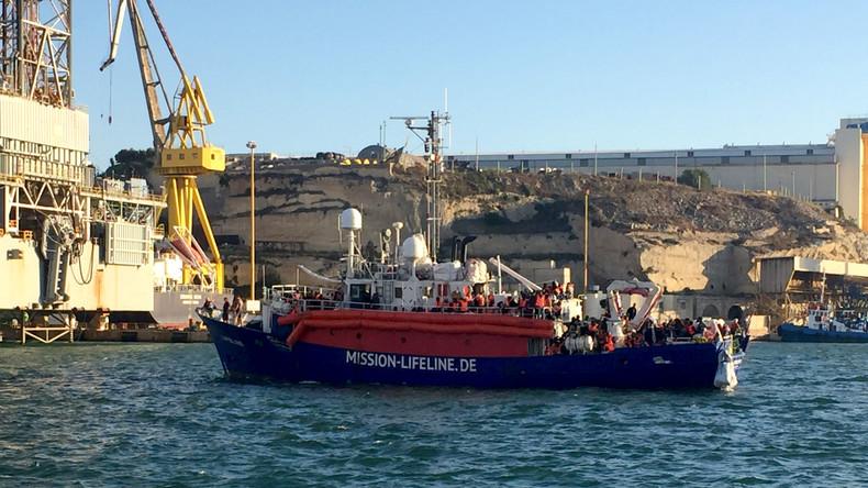 Flugzeug und Schiff deutscher Seenotretter auf Malta festgesetzt