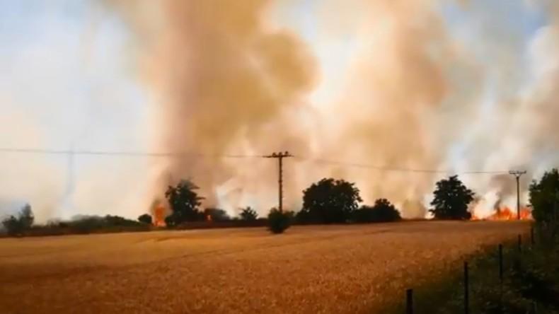 Brand in Tschechien legt Bahnverkehr nach Deutschland lahm