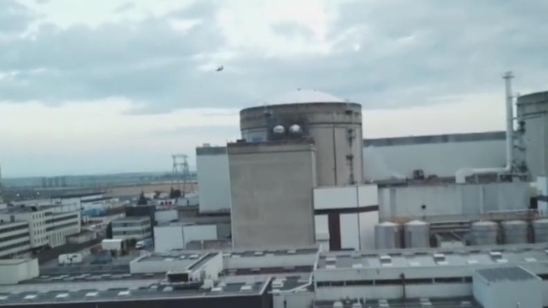 Greenpeace will Gefahrenpotenzial demonstrieren und steuert Drohne in Atomkraftwerk