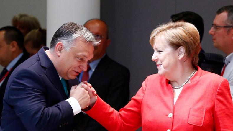 LIVE: Merkel und Orban geben gemeinsame Pressekonferenz in Berlin