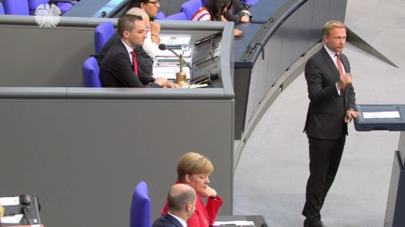 """Lindner geht mit Merkel-Politik ins Gericht: """"Schlecht und gar nicht regieren zur gleichen Zeit"""""""