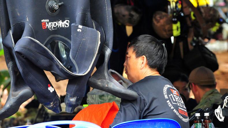Thailand: In Höhle gefangene Kinder sollen tauchen lernen und mit Tauchern in Freiheit schwimmen