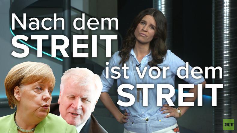Die Seehofer-Merkel-Chronik: Nach dem Streit ist vor dem Streit