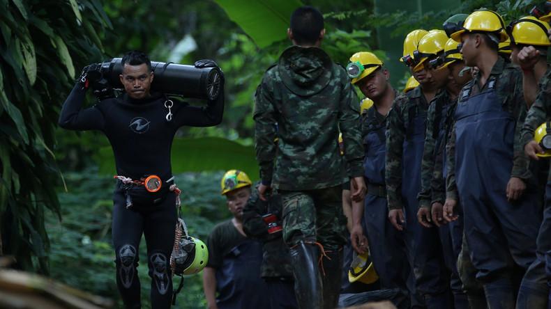 Taucher bei Rettungsaktion in thailändischer Höhle ertrunken