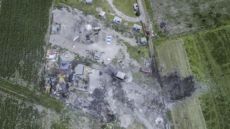 Mexiko: Explosionen in Feuerwerksfabrik fordern mindestens 24 Menschenleben
