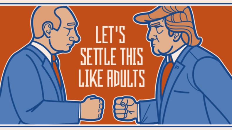 """""""Lass es uns wie Erwachsene klären"""": Finnische Brauerei stellt Biersorte zu Trump-Putin-Gipfel vor"""
