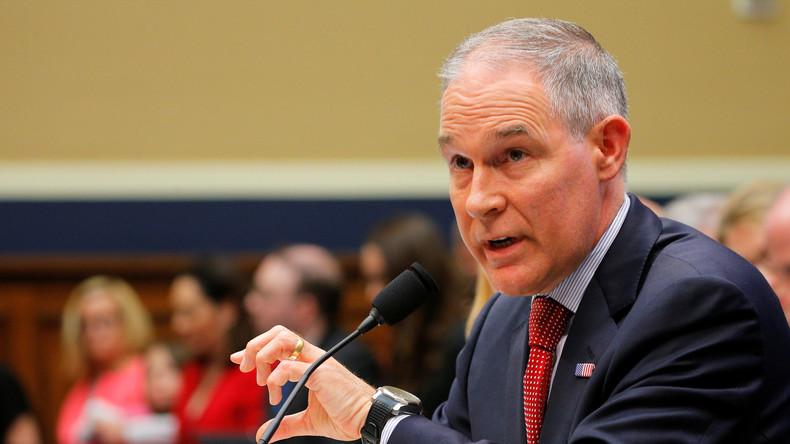 Chef der US-Umweltbehörde tritt nach Skandalserie zurück