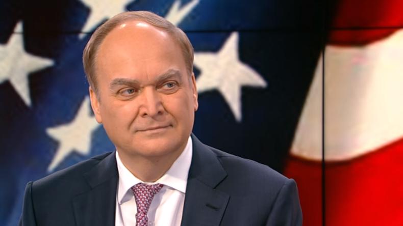 """""""Wenn ich Ihre Hand schüttle, werde ich gefeuert"""" – Russischer Botschafter in den USA (Video)"""