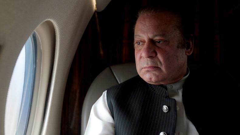 Zehn Jahre Haft für Pakistans Ex-Premier Nawaz Sharif