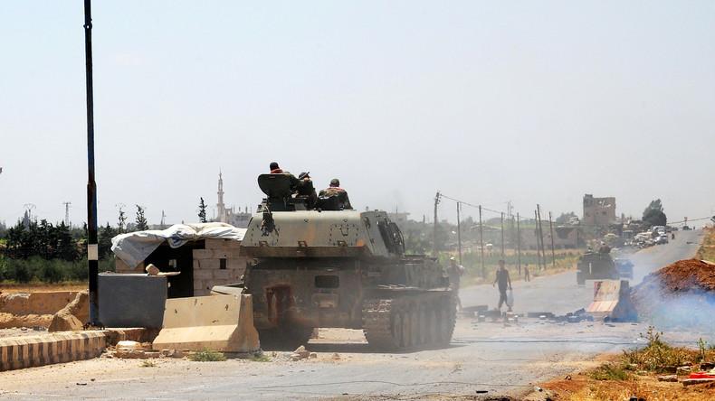 Syrien: Regierungsgegner treffen sich mit russischen Vermittlern zu neuen Gesprächen