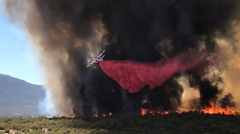 Buschbrände in Nordkalifornien bedrohen Hunderte Häuser