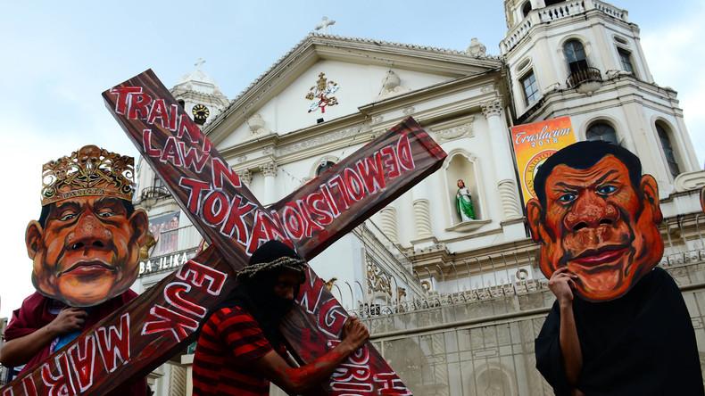 Philippinischer Präsident verspricht Rücktritt bei Gottesbeweis