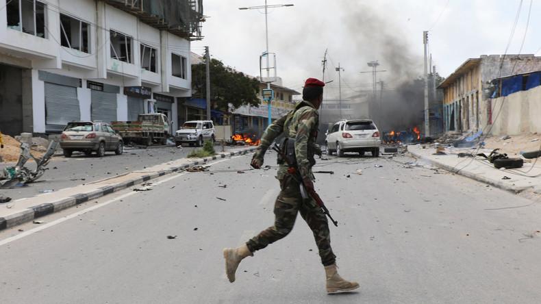 Doppelanschlag auf Innen- und Sicherheitsministerium in Somalia