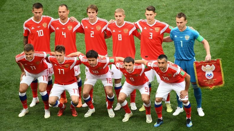 Zwei Fußballspieler beenden Karriere in Russlands Nationalelf nach WM-Aus