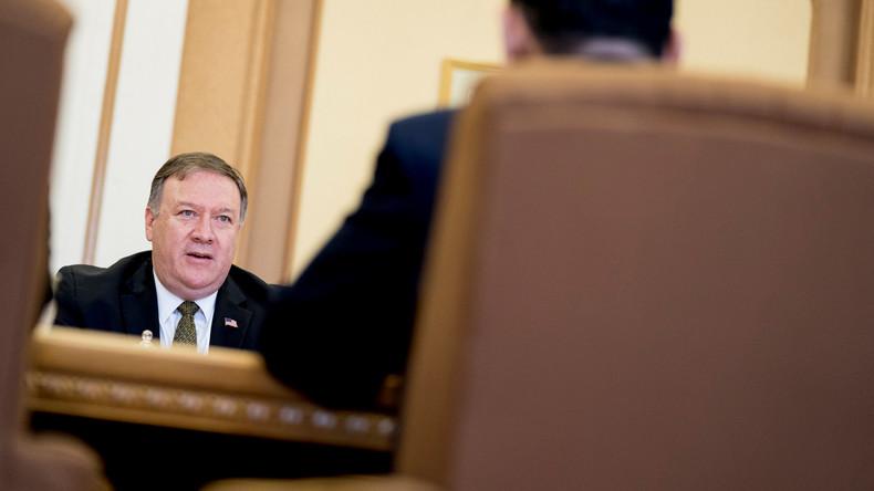 """US-Außenminister Mike Pompeo weist """"Gangster""""-Vorwurf Nordkoreas zurück"""