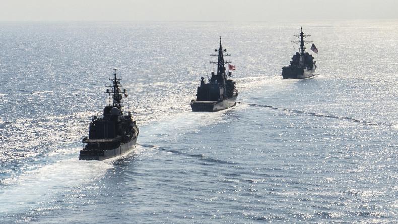Nach Beginn des Handelskrieges: USA provozieren nun China mit Marinemanöver vor der Küste Taiwans