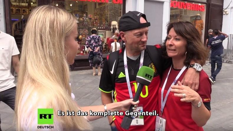 Straßenumfrage: RT Deutsch überprüft sechs Behauptungen des Westens über die Fußball-WM in Russland