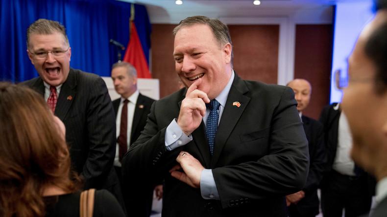 """Pompeo: Sanktionen gegen Nordkorea werden bis zur """"verifizierten Denuklearisierung"""" nicht aufgehoben"""