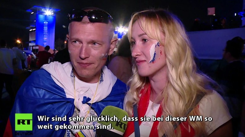 Nach WM-Viertelfinale zwischen Russland und Kroatien: Fans bedanken sich bei ihrer Nationalelf