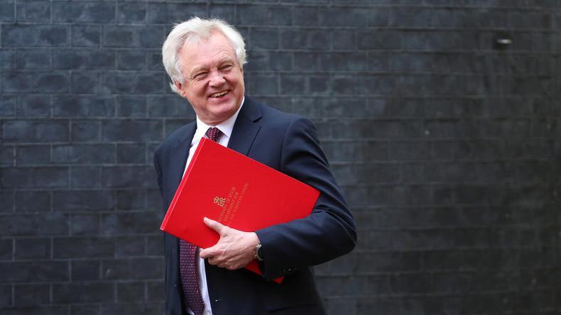 Brexit-Minister David Davis tritt im Streit um Austrittspläne zurück
