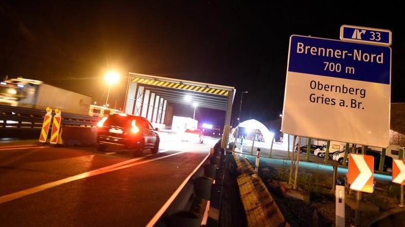 Start fünftägiger Grenzkontrollen bei der Einreise nach Österreich