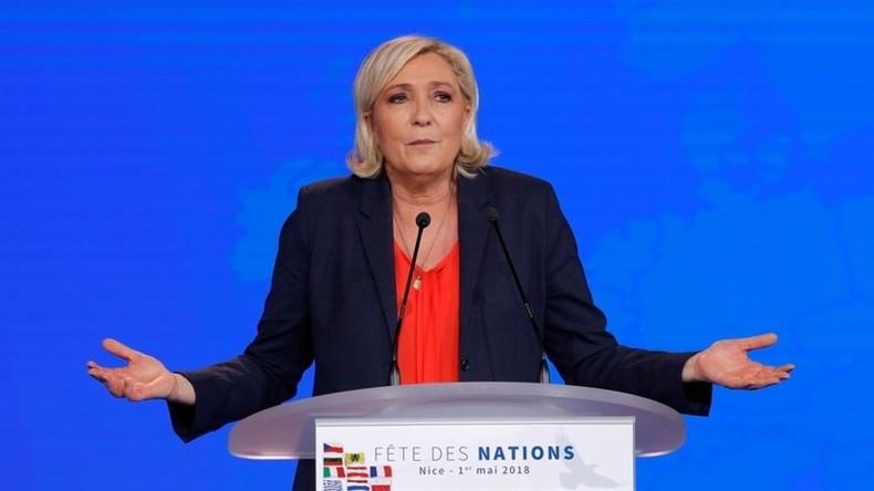 """""""Todesstrafe"""" für Le-Pen-Partei: Ermittler beschlagnahmen Millionen-Zuweisung"""