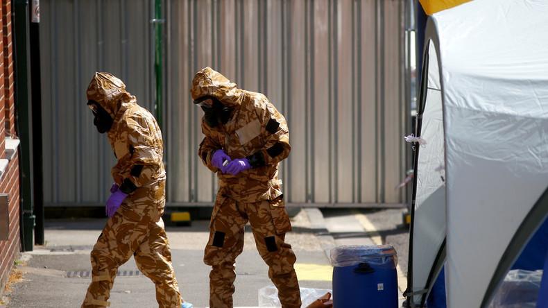 LIVE: Scotland Yard gibt Erklärung ab zu angeblichem Nowitschok-Zwischenfall in Amesbury