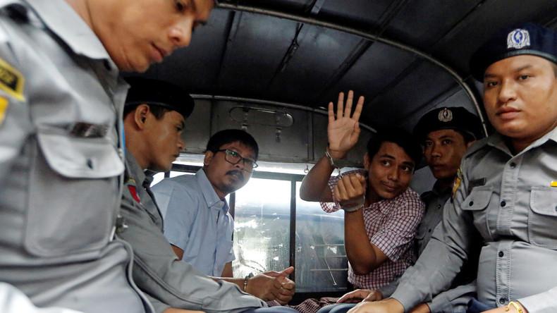 Staatsgeheimnis-Anklage gegen zwei Reuters-Journalisten in Myanmar