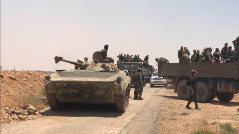 Syrien: 90 Ortschaften im Südwesten schließen sich Waffenstillstand an