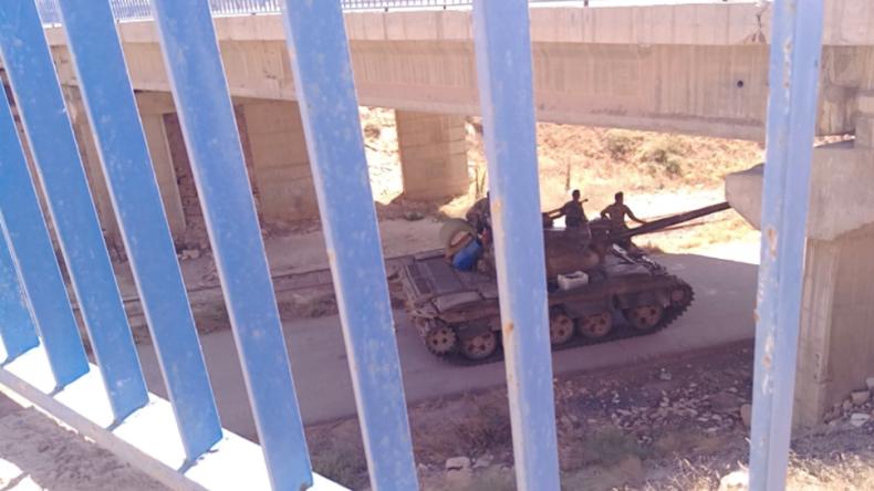 Weitere Islamisten-Hochburg fällt: Grenzposten zu Jordanien wieder unter syrischer Kontrolle