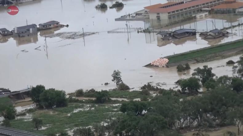 Japan: Schwerste Überschwemmungen - Über 120 Tote und Dutzende Vermisste