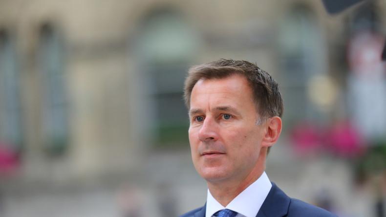 Nach Johnsons Rücktritt Jeremy Hunt zum neuen Außenminister Großbritanniens ernannt