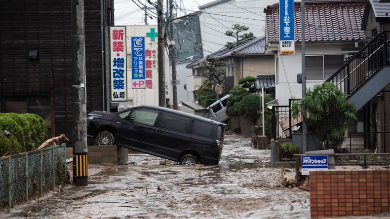 Zahl der Überschwemmungsopfer in Japan steigt auf 148