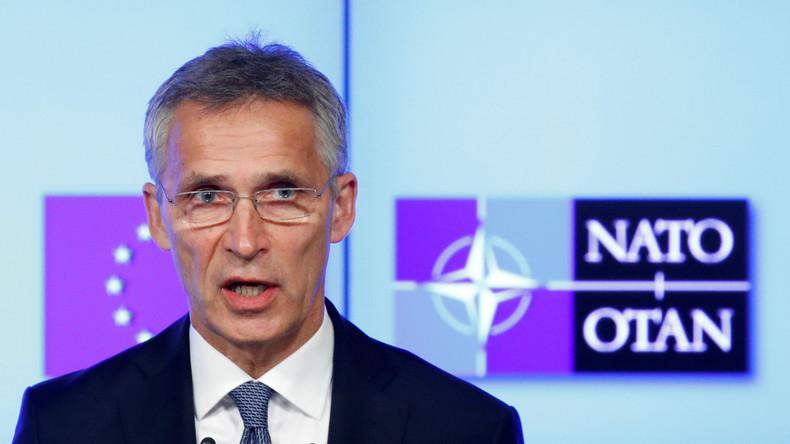 LIVE: NATO-Generalsekretär Jens Stoltenberg gibt Pressekonferenz vor NATO-Gipfel in Brüssel
