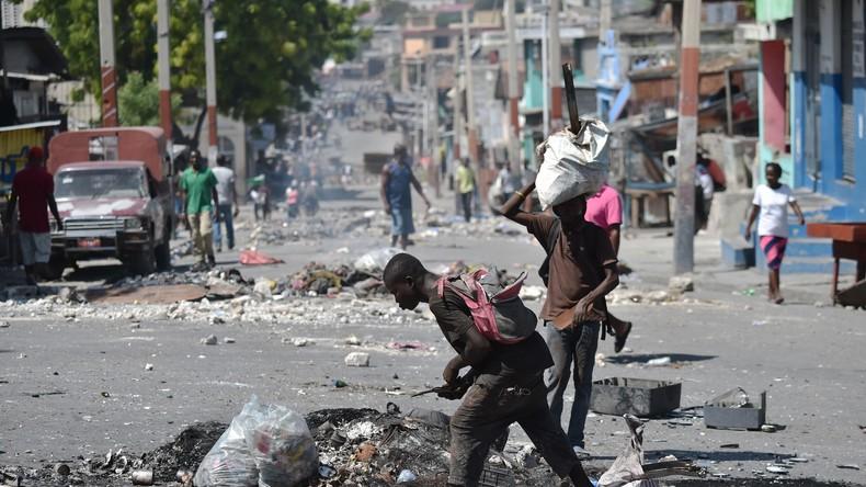 Mit westlicher Hilfe in den Abgrund: Lage in Haiti offenbart jahrelange Veruntreuung von Hilfsgütern