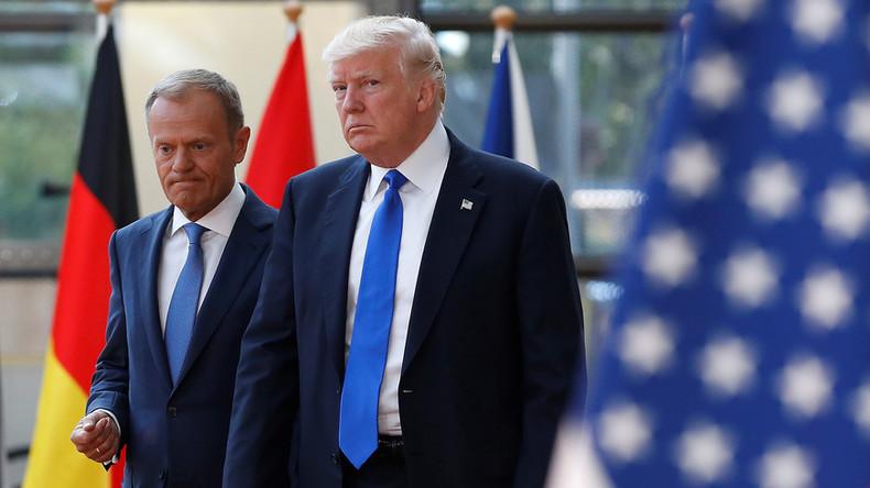 EU-Ratspräsident zu Trump: Sie sollten Ihre Verbündeten zu schätzen wissen - viele haben Sie nicht