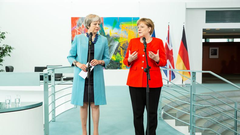 LIVE: Merkel, May und polnischer Premier Morawiecki geben Pressekonferenz