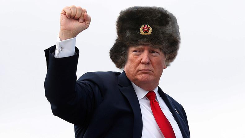 Verschwörungstheorie des Tages aus den USA: Trump schon seit 1987 russischer Agent