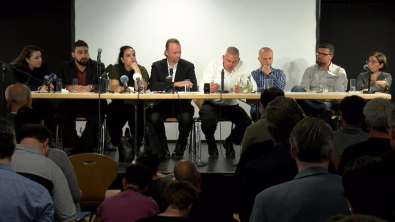 """""""Wie nach einem Drehbuch"""": Überlebende NSU-Opfer und Familienangehörige geben Pressekonferenz"""