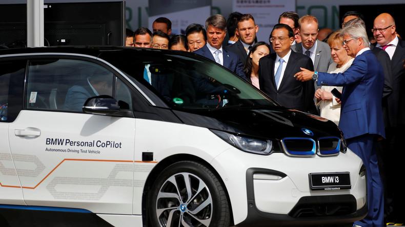 Reaktion auf Trump-Zölle: Für deutsche Investitionen riskiert Peking Schwächeln eigener Anbieter