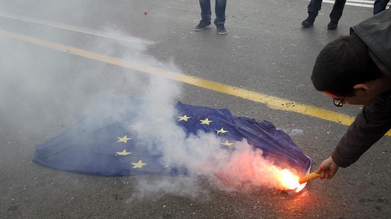 Aktuelle Umfrage in Frankreich:  Zustimmungswerte für EU erreichen neuen Tiefstand
