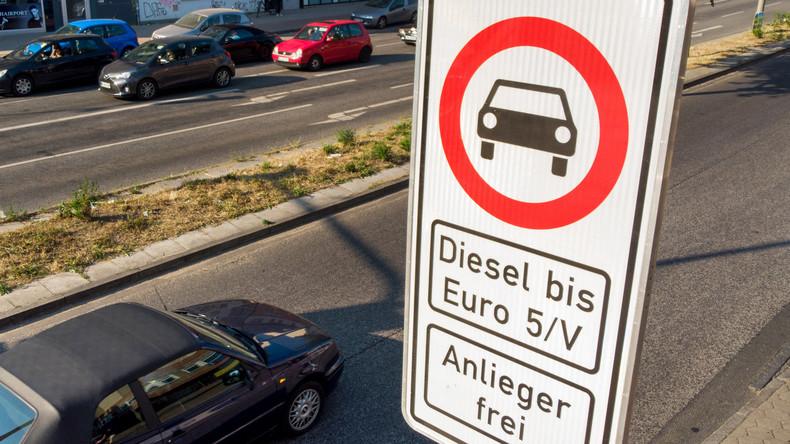 Jetzt auch in Stuttgart: Diesel-Fahrverbote ab Jahresbeginn 2019