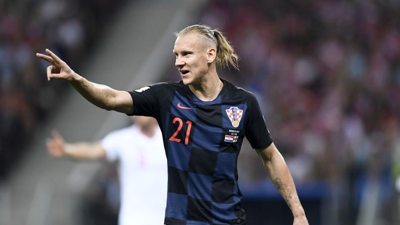 """""""Ich habe einen Fehler gemacht"""": Kroatischer Fußballspieler Vida entschuldigt sich für Ukraine-Jubel"""