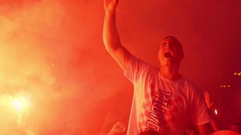 Zagreb nach Einzug Kroatiens ins WM-Finale in vollem Party-Modus