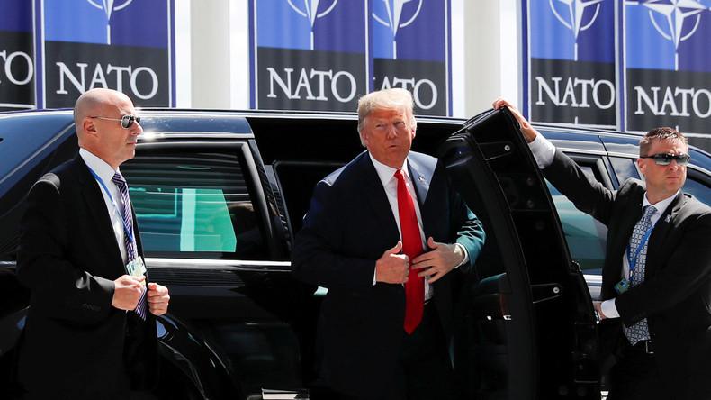 Video: Trump gibt Erklärung zum NATO-Gipfel ab